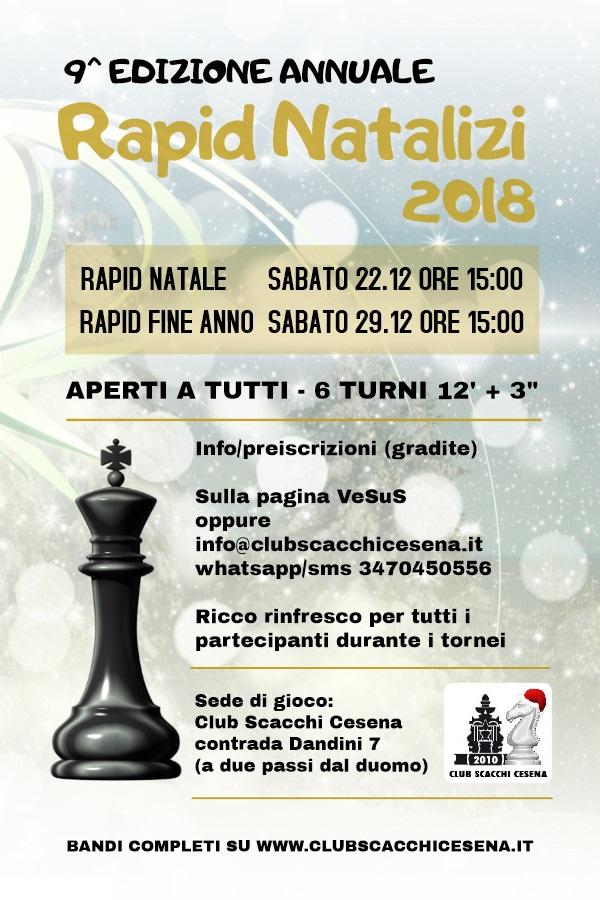 Calendario Tornei Scacchi.Club Scacchi Cesena Cesena Chess Club